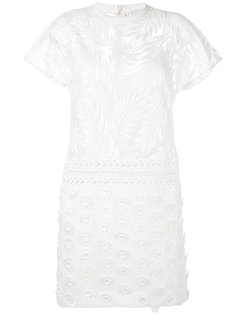 embroidered flower dress Si-Jay