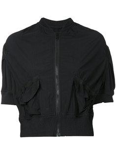 cropped bomber jacket Kolor