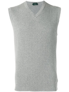 v-neck sleeveless jumper Zanone