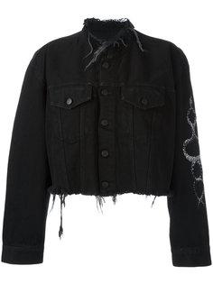 джинсовая куртка Alyssa Marcelo Burlon County Of Milan