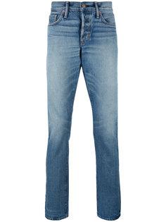 джинсы кроя слим Tom Ford