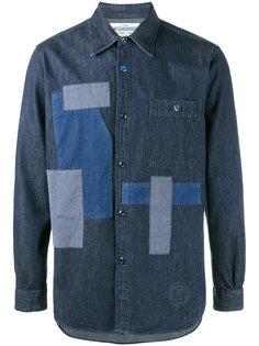 джинсовая рубашка с нашивками Neighborhood
