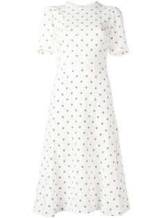 платье с вышивкой Givenchy