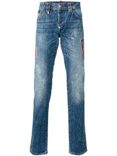 прямые джинсы Flame Philipp Plein