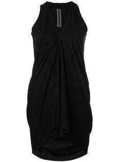 драпированная блузка с V-образным вырезом Rick Owens DRKSHDW