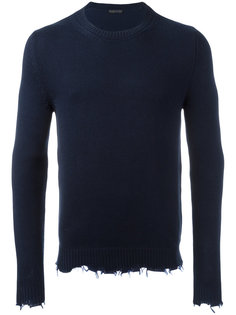 frayed edge sweatshirt Etro