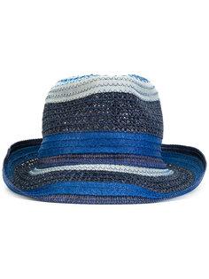 шляпа с контрастной отделкой Etro