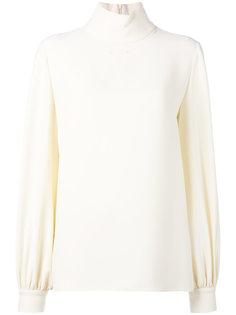 блузка с высокой горловиной Tom Ford