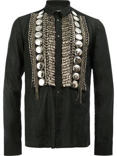 декорированная рубашка Balmain