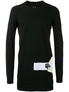 side patch sweatshirt Rick Owens DRKSHDW