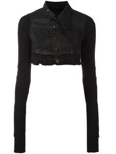 укороченная джинсовая куртка Rick Owens DRKSHDW