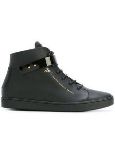 кроссовки-хайтопы Giuseppe Zanotti Design