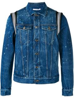 джинсовая куртка с потертым эффектом Givenchy