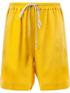 шорты с завязками на талии Rick Owens