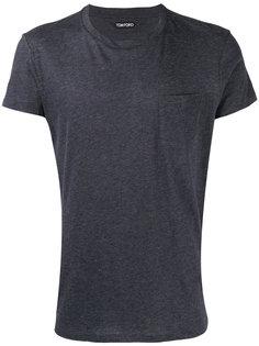 футболка с нагрудным карманом Tom Ford