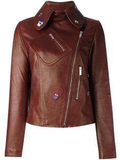 декорированная укороченная куртка Christopher Kane