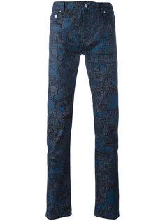 джинсы Flyers Kenzo