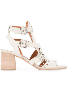 eyelet embellished sandals Derek Lam