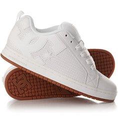 Кеды кроссовки низкие DC Court Graffik White/Gum