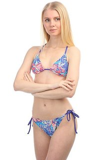 Купальник женский Roxy Mix Blos Tri/Sc J Royal Blue Beyond Lo