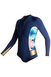 Гидрокостюм (Комбинезон) женский Roxy 2m Pop Ls Sp Blue Depths
