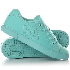 Кеды кроссовки низкие женские DC Shoes Chelsea Tx Aqua