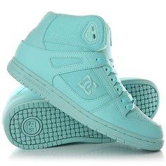 Кеды кроссовки высокие женские DC Shoes Rebound High Aqua