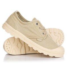 Ботинки низкие женские Palladium Pampa Oxford Lp Sahara/Ecru