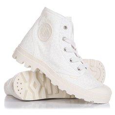 Ботинки высокие женские Palladium Pampa Hi Marshmallow/Cubic Print