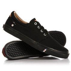 Кеды кроссовки низкие Wrangler Icon City Cvs Black