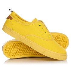Кеды кроссовки низкие женские Wrangler Icon Board Chrome Yellow
