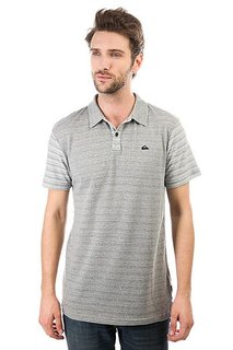 Поло Quiksilver Cimbelloport Medium Grey Heather