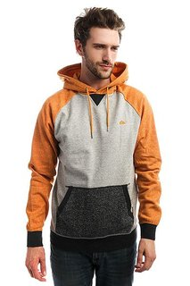 Толстовка кенгуру Quiksilver Rionegrohood Golden Oak