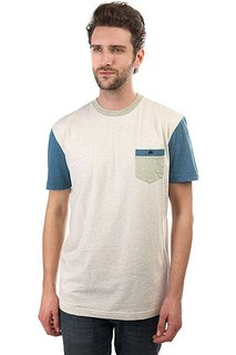 Футболка Quiksilver Baysicpocket Birch Heather