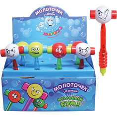 Мыльные пузыри Мы-шарики! Молоточек, с игрушкой, 30мл. , 1Toy