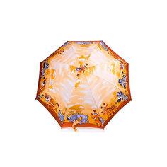 Зонт-трость, детский, бежево-коричневый Zest