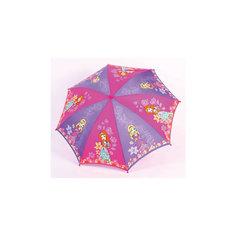 """Зонт-трость, детский, рисунок """"Принцессы"""" Zest"""