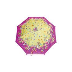 Зонт-трость, детский, розово-желтый Zest