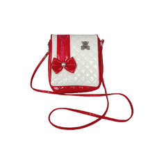 """Сумочка """"Мишки"""" на плечо красно-белая Shantou Gepai"""