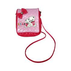 "Сумочка ""Мишки"" на плечо, розовая Shantou Gepai"