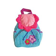 """Рюкзачок """"Поляна"""", розово-голубой,  20*28 см. Shantou Gepai"""