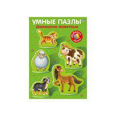 """Книга """"Умные пазлы. Домашние животные"""" Робинс"""