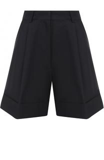 Мини-шорты с карманами и защипами Dries Van Noten