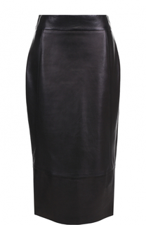 Кожаная юбка-карандаш Tom Ford