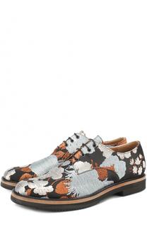 Текстильные ботинки с вышивкой Dries Van Noten
