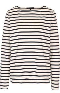 Пуловер прямого кроя в контрастную полоску The Row