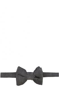Галстук-бабочка из смеси льна и шелка Tom Ford