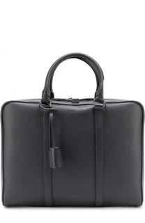 Кожаный портфель для ноутбука Tod's Tods