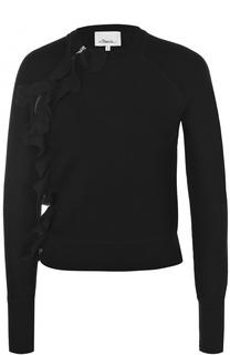 Укороченный пуловер с оборками 3.1 Phillip Lim