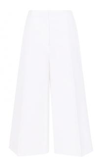 Укороченные расклешенные брюки со стрелками Joseph